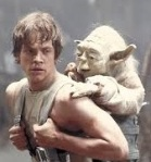luke and yoda - flickr
