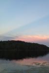 sunset at cabin2