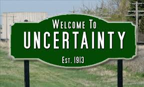 Welcome to Uncertainty