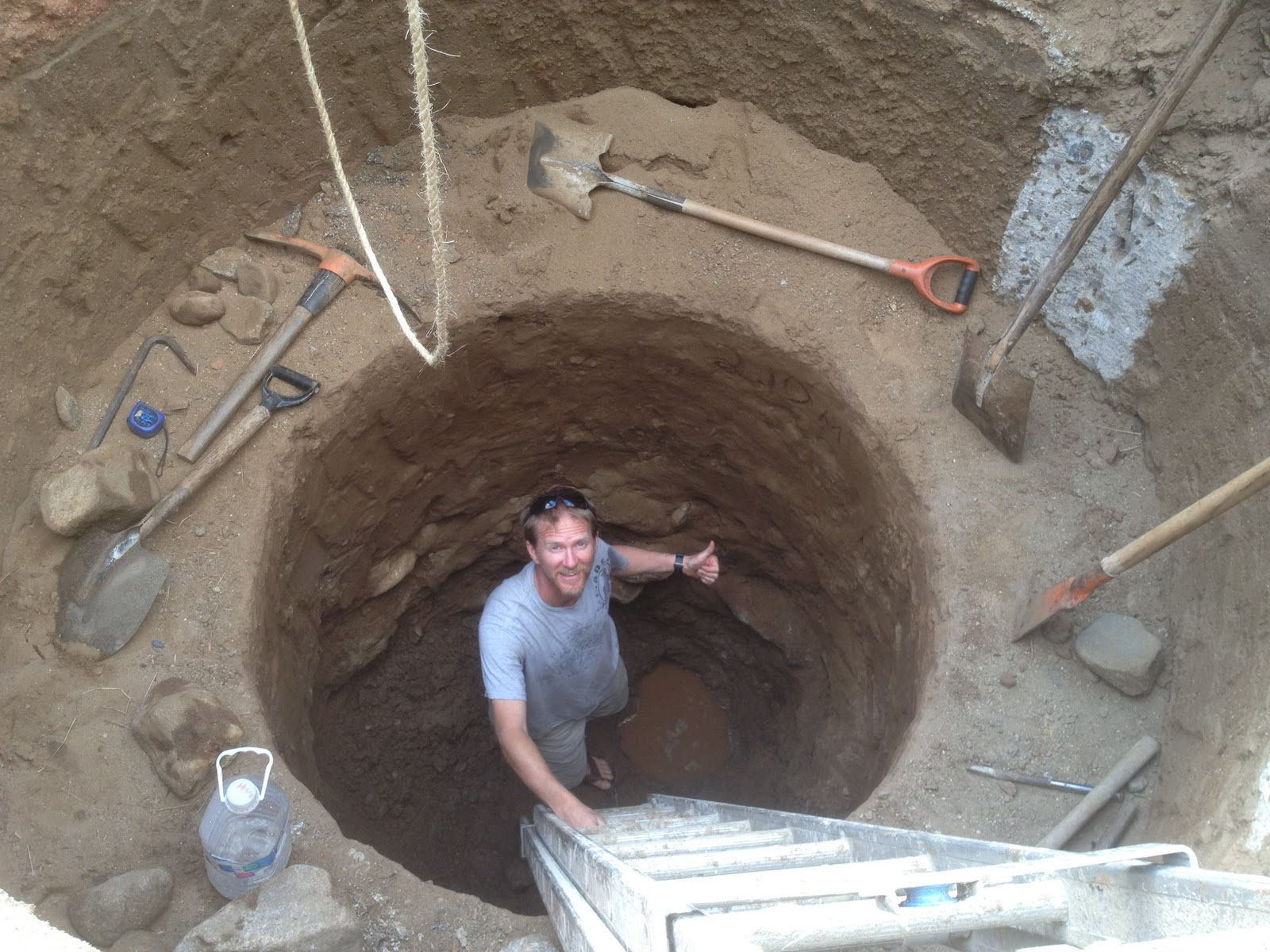 How to dig a well